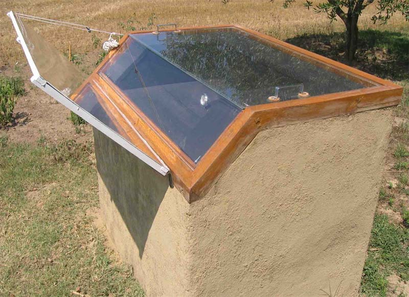 research plan for solar oven