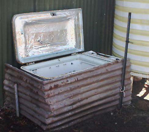 Using A Solar Oven As A Radiant Refrigerator At Night