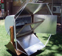 Last year�s winning solar oven design