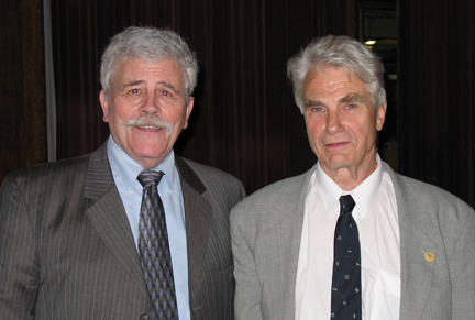 SCI Executive Director Patrick Widner (left) and Derk Rijks