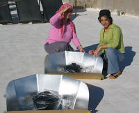 Solar cookers are parted of Integrated Cooking