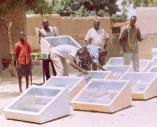 Gnibouwa Diassana reports that 40 solar box cookers have been assembled and distributed to villagers in Nioro du Sahel, near the border with Mauritania