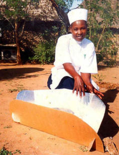 Students at the Culinary Institute of Africa can add another skill to their resume: solar cook
