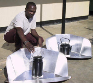 Simple solar cookers can make contaminated water safe to drink