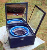 The ORES solar box cooker