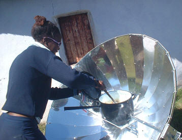 SunFire 14 solar cookers are reducing firewood dependence and improving lives in Masihambisane