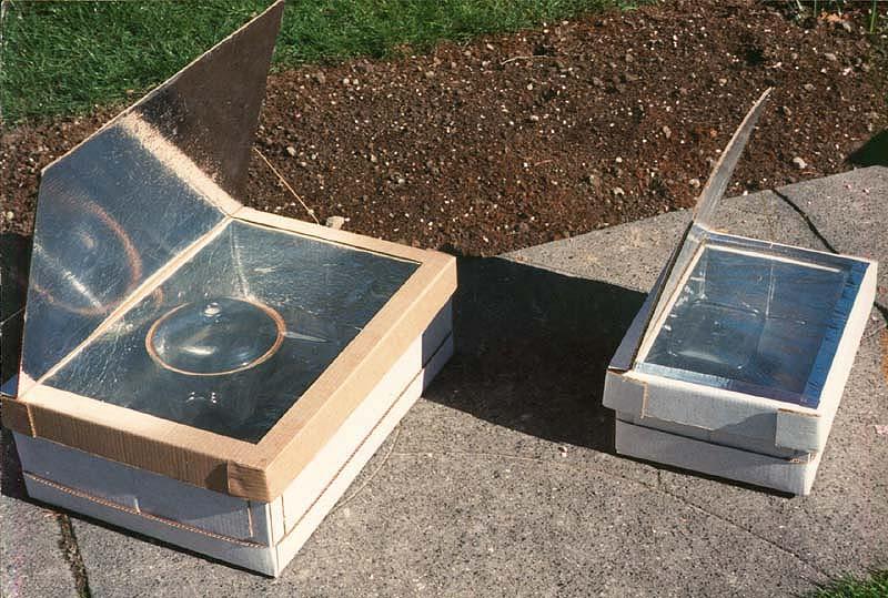 Como Hacer Una Cocina Solar Plegable